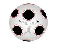 Ball in soccer Royalty Free Stock Photography