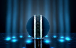 Ball On Spotlit Stage Royalty Free Stock Photo