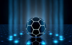 Ball On Spotlit Stage Royalty Free Stock Photography