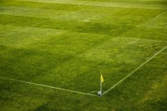 The Ball, Stadion, Horn, Corner Royalty Free Stock Photo