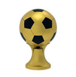 Ball on stand, 3d render Royalty Free Stock Photos