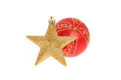 Ball and star Stock Images