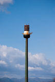 Ball street lamp Royalty Free Stock Images