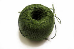 Ball of String. Ball of garden string ready to tie in plants Stock Photography