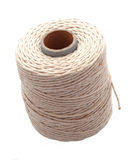 Ball of string. Or twine on a plain white background Stock Images