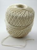 Ball of string. Tightly wound ball of string Royalty Free Stock Images