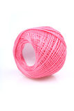 Ball of string on white background Royalty Free Stock Photos