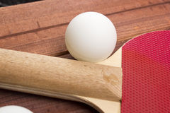 Ball for table tennis Royalty Free Stock Photography