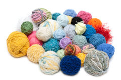 Ball of the threads Royalty Free Stock Photography