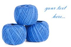 Ball of threads Stock Photo
