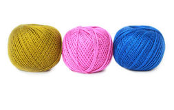 Ball of threads Stock Image