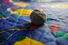 Ball of threads Stock Photography