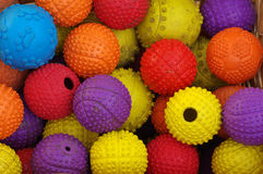 Ball toy for dogs detail Stock Image