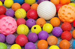 Ball toy for dogs group objects. Ball toy for dogs objects group stock photography