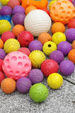 Ball toy for dogs toys group objects. Ball toy for dogs objects group royalty free stock photo
