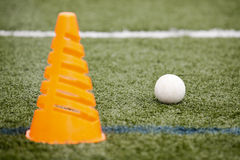 Ball Turf Cone Royalty Free Stock Images