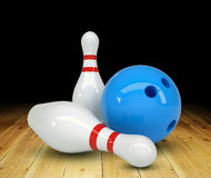 Ball with two pins Stock Photos