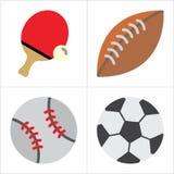 Ball und Sport vektor abbildung