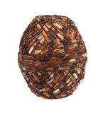 Ball of unusual yarn Royalty Free Stock Photography