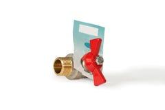 Ball valve. Stock Photo