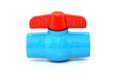Ball valve Plastic Royalty Free Stock Image