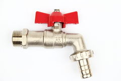 The ball valve tap Royalty Free Stock Photos