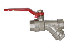 Ball valve taps Royalty Free Stock Photo