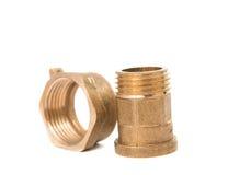 Ball valve taps Stock Image