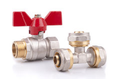 Ball Valves Royalty Free Stock Photography