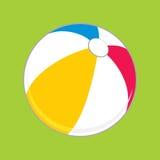 Ball. Vector illustration. Vector illustration of multicolored ball. Children's toy Stock Photos