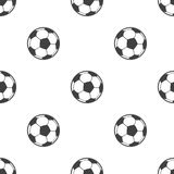 Ball, vector seamless pattern Royalty Free Stock Photos