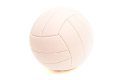 Ball for volleyball. Sport ball isolated on white background for volleyball Royalty Free Stock Photography