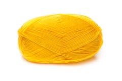 Ball von gelben Threads Lizenzfreie Stockfotos