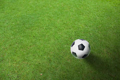 A ball wait for shooting Royalty Free Stock Image