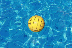 Ball on water Royalty Free Stock Images