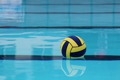 Ball on water Royalty Free Stock Photography