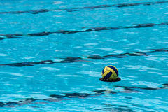 Ball on water Royalty Free Stock Image