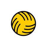 Ball water polo sign. Ball for playing on water games icon Royalty Free Stock Photo