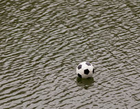 Ball in water Stock Photos
