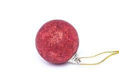 Ball-Weihnachten Stockfoto