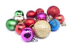 Ball-Weihnachten Stockbild