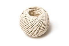 Ball of white string Stock Photography