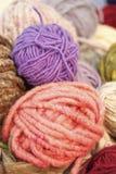 Ball of wool. Ball of colored wool espsti bulk Stock Photo