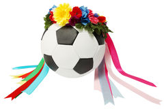 Ball in wreath Stock Images