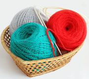 Ball of the yarn Stock Photos