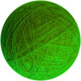 Ball of yarn. Clear bright image of ball of yarn stock photography