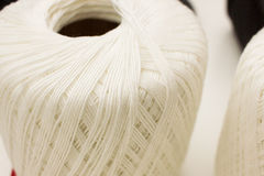 Ball of yarn close up Stock Image