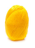 Ball of yellow threads Royalty Free Stock Photos