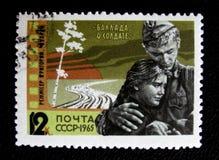 Ballada żołnierz około 1965, zdjęcia stock