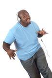 Ballando alla musica Immagini Stock